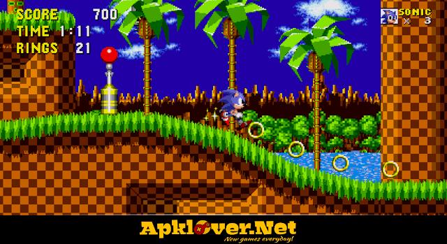 Sonic the Hedgehog MOD APK premium unlocked
