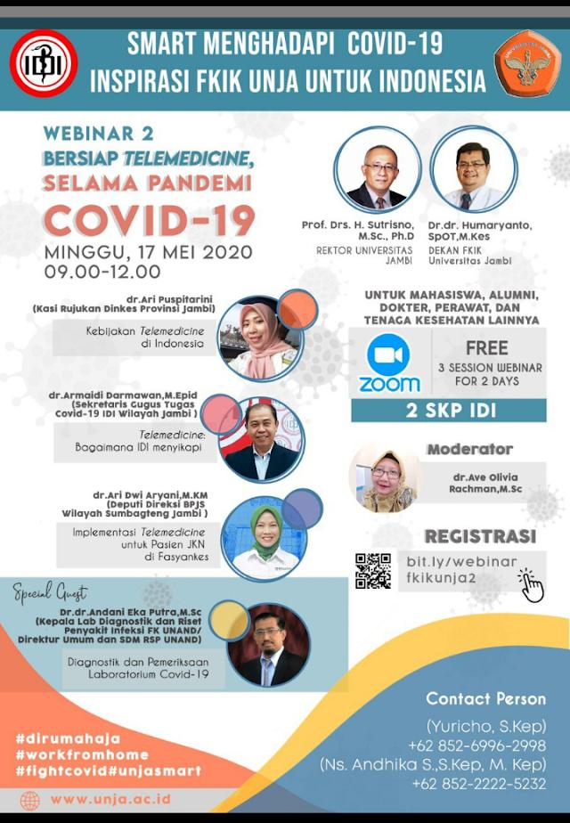 Free SKP IDI: Webinar Smart Menghadapi Covid-19