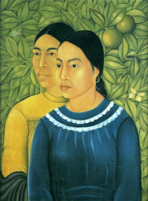 Фрида Кало - Две женщины. 1929