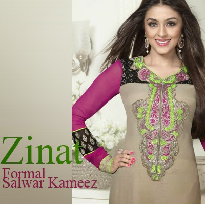 c4aa140dd4 Don't forget to hold your hearts tightly because here comes Zinat 2 by Pari  Indian formal salwar kameez collection 2014. Well we all know that salwar  kameez ...