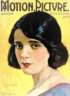 Alma Rubens Magazine