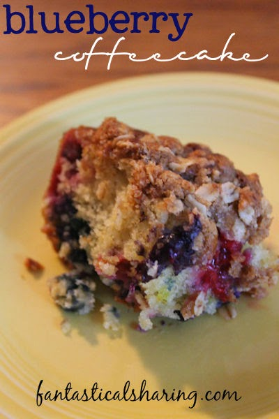 The Very Best Blueberry Coffeecake | Fantastical Sharing of Recipes