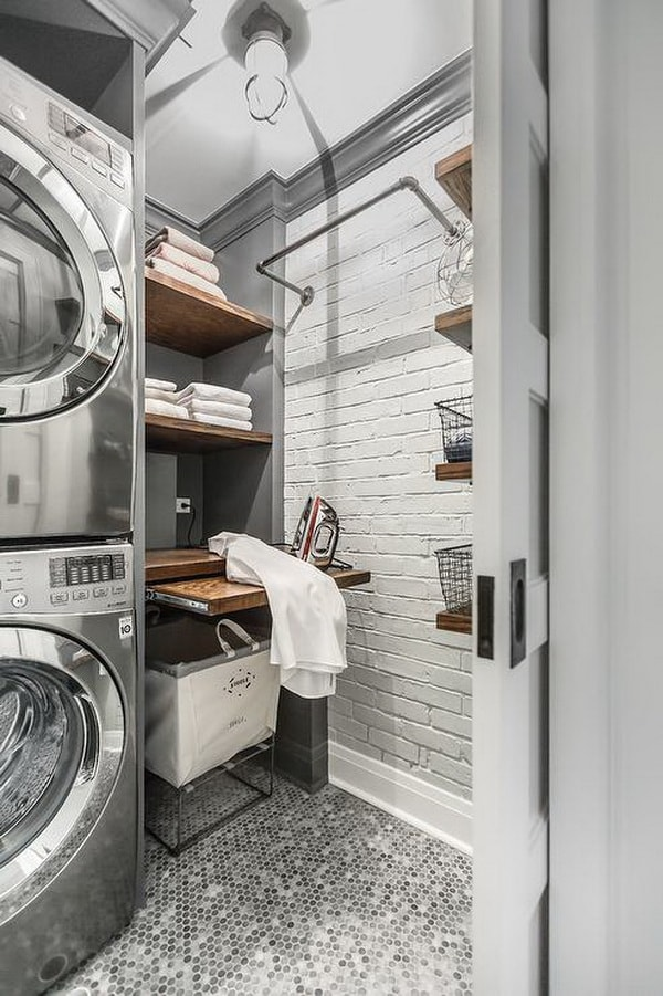 Creative Laundry Rooms Decor Ideas - Room Organization Ideas 9