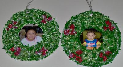 Christmas Wreath Ornaments 1