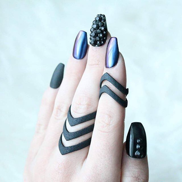 Six fancy nail art ideas