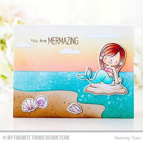 Handmade card from Keeway Tsao featuring products. from My Favorite Things #mftstamps