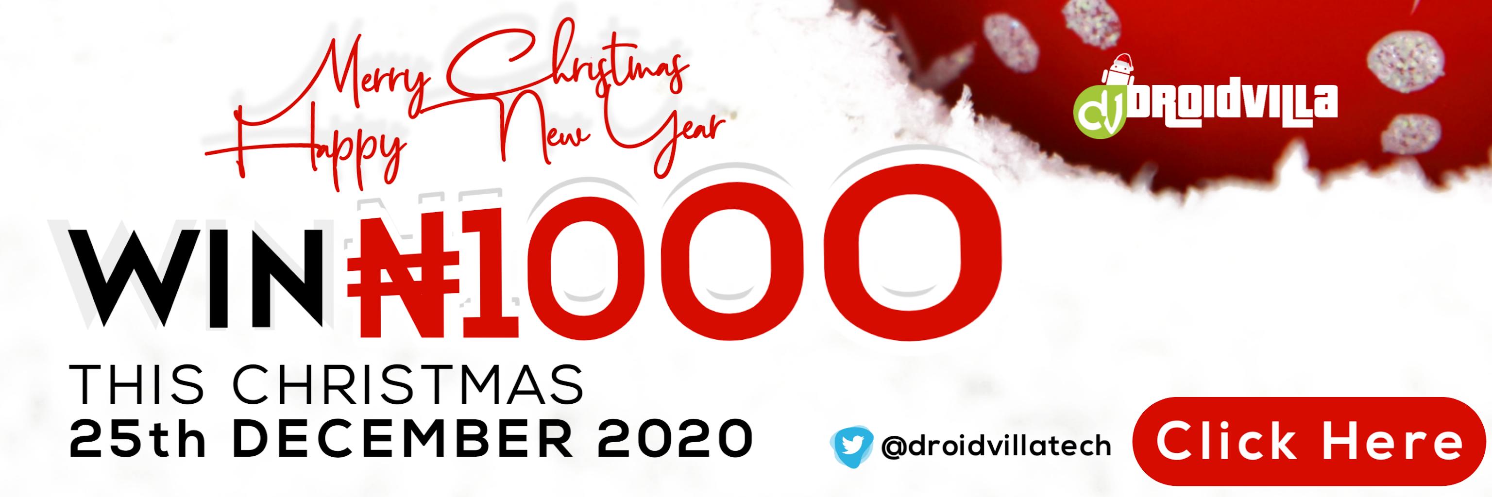 Droidvilla Christmas N1000 Giveaway