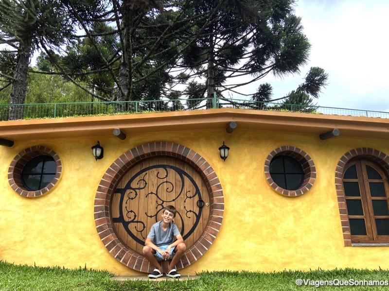 Casa Hobbit na Serra Gaucha