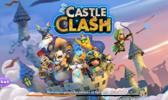 Game RTS Android - Castle Clash