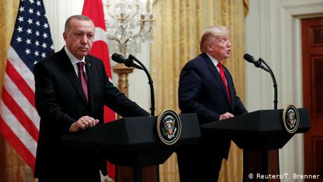 O Eρντογάν τα βάζει τώρα και με τις ΗΠΑ