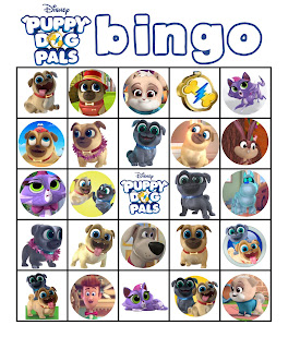 free puppy dog pals party games printables
