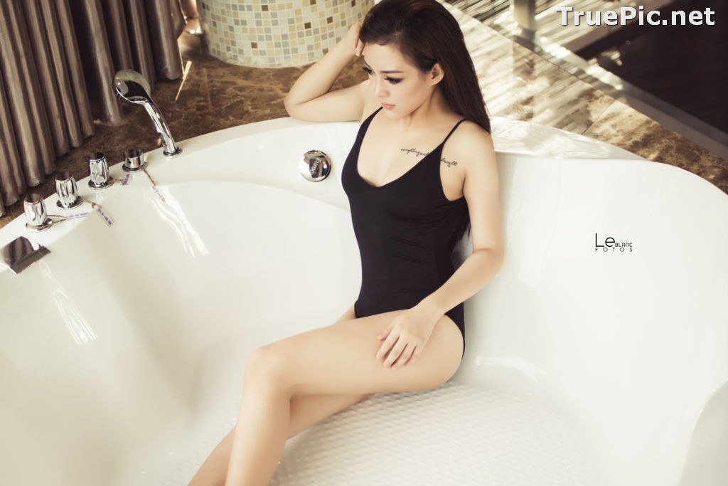 Image Vietnamese Beauties With Lingerie and Bikini – Photo by Le Blanc Studio #14 - TruePic.net - Picture-9