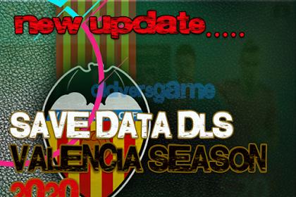Download Save Data Dream League Soccer Valencia Season 2020-2021