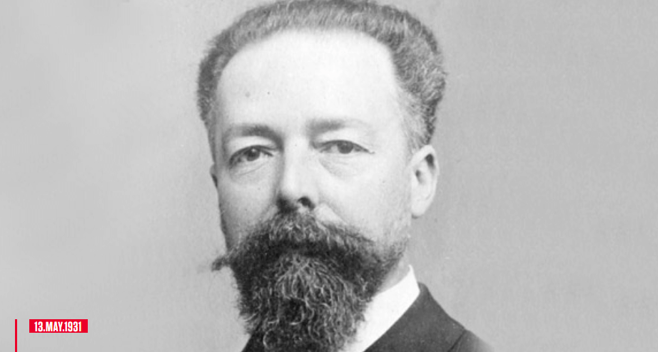 On this day in the history; Paul Doumer was a French politician president of the Republic of France during May 13, 1931 and the year 1932.