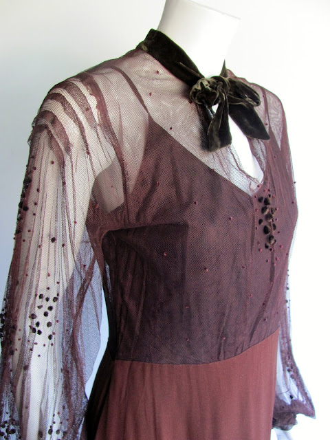 couture dress from the 30s
