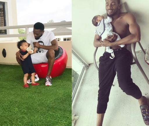 So Sad: Dbanj Lost His One Year Old Son, Daniel