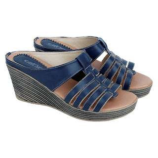 Sandal Wedges Wanita Catenzo SI 032