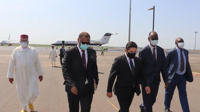 بوريطة يصل مالي في أول زيارة بعد تنصيب رئيس جديد