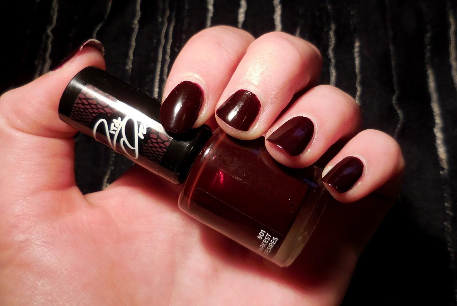 failed__beautification: Rimmel Shades of black by Rita Ora - lak za ...
