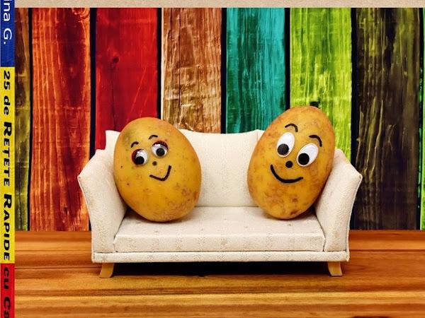 25 de Retete Rapide cu Cartofi: Carte de Bucate Vegane Fara Gluten pentru Incepatori