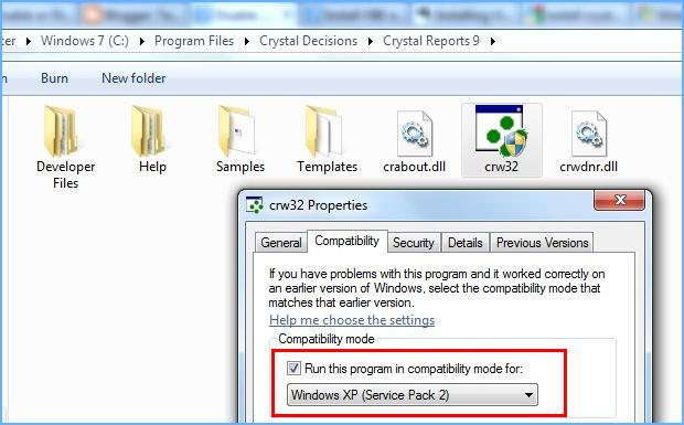 How to Install Crystal Reports 9 in Windows 7 | Tech Stumps