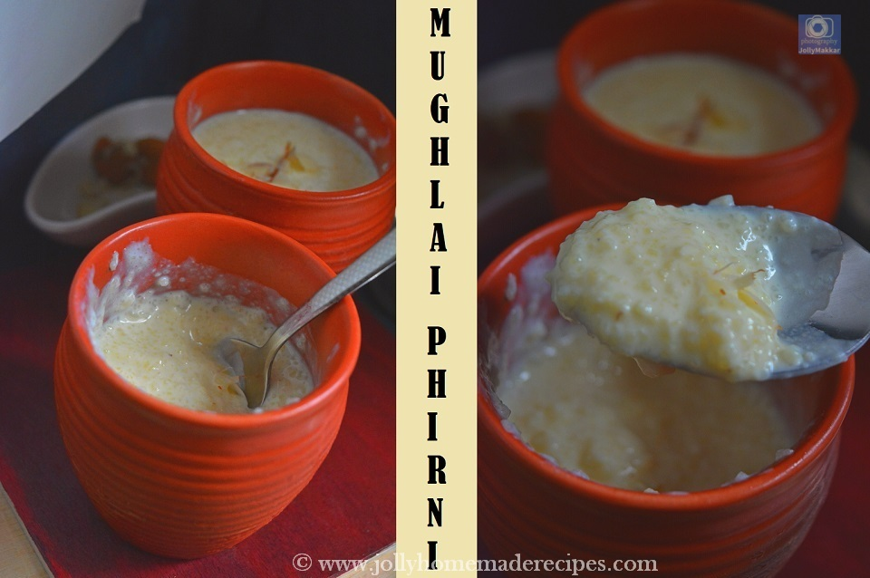 Mughlai Rice Phirni Recipe
