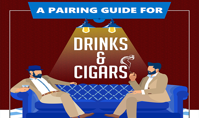 A Pairing Guide for Drinks and Cigars