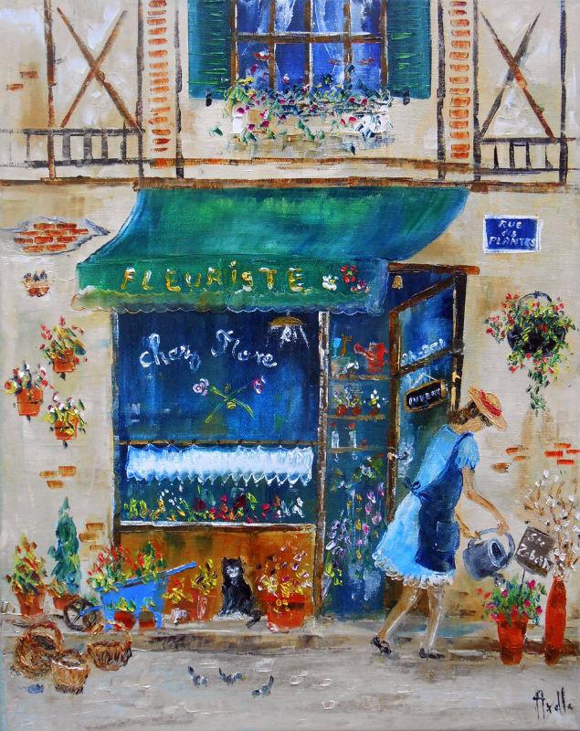 Chez Flore par Axelle Bosler