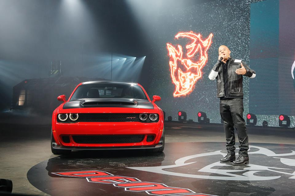 MUSCLE CAR COLLECTION : Vin Diesel Advertisement 2018 ...