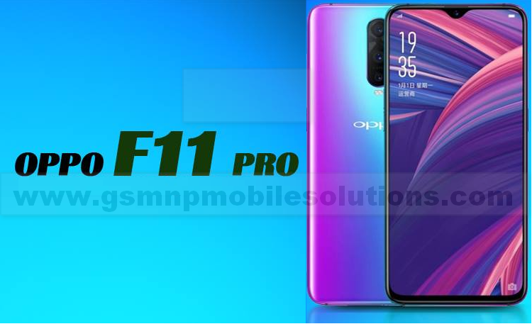 Oppo F11 Pro CPH1969 Official Firmware Stock Rom/Flash File