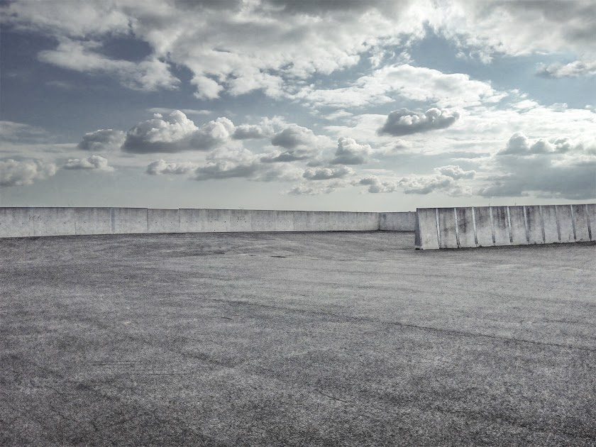 Minimal photography, storage, clouds, concrete, architecture, explore