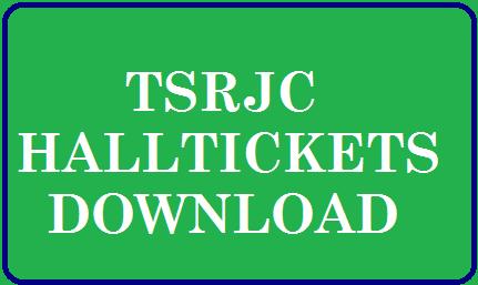 TSRJC CET Hall Ticket 2021 download