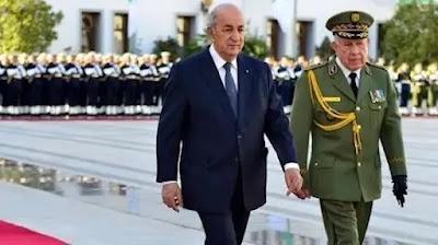 ماكرون: النظام الحاكم في الجزائر عسكري متحجر وتبون رهينة لدى الجيش