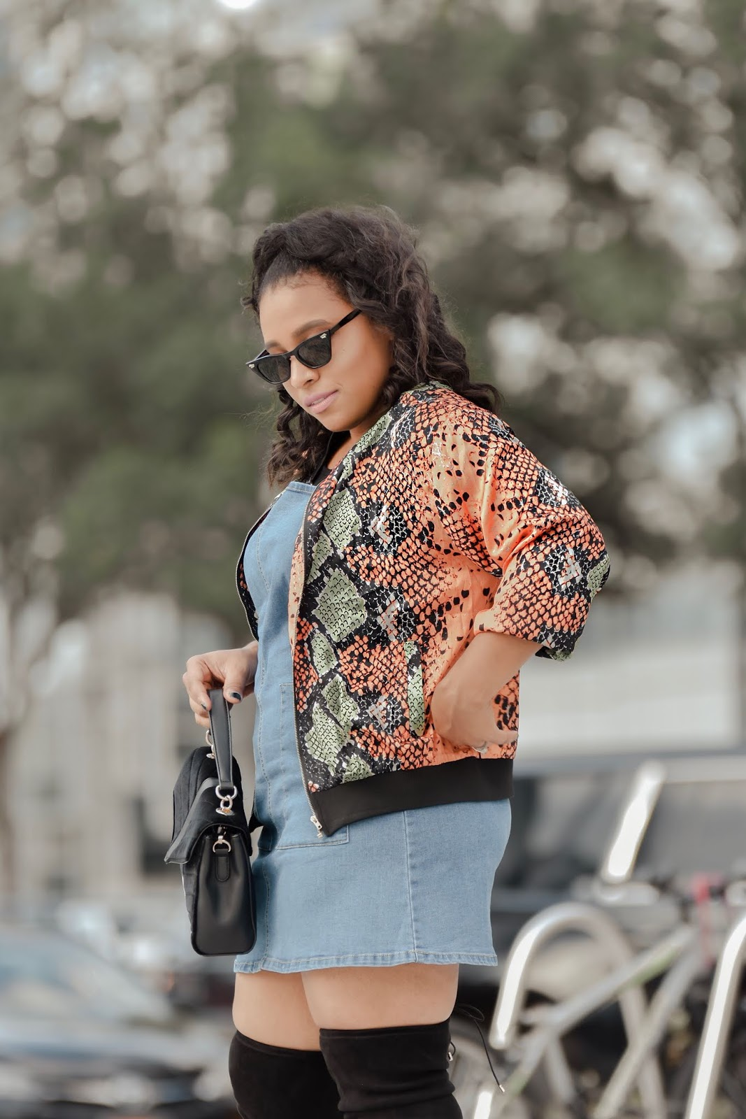 bomber jacket, animal print outfits, nyfw, nyfw 2019, ny streetstyle, mom bloggers, pattys kloset