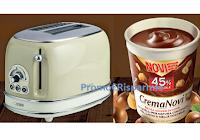 Logo Concorso Crema Novi 2020 : vinci 60 Tostapane Ariete Toaster Vintage