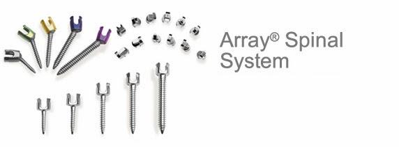 Array® Spinal System - SPINEMarketGroup