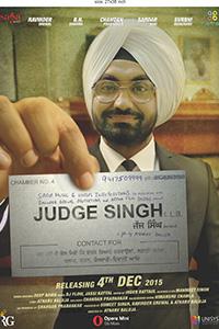 Poster Of Judge Singh LLB 2015 720p Punjabi DVDRip Full Movie Download