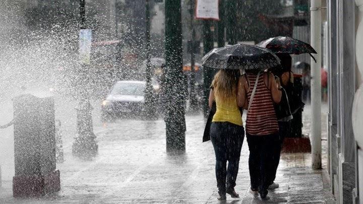 Σε ισχύ το έκτακτο δελτίο επιδείνωσης καιρού - Bροχές και καταιγίδες σήμερα