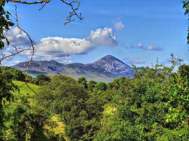 Travel Ireland by Train from Dublin: Croagh Patrick in County Mayo, Ireland