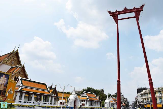 Wat Suthat y Giant Swing, Bangkok
