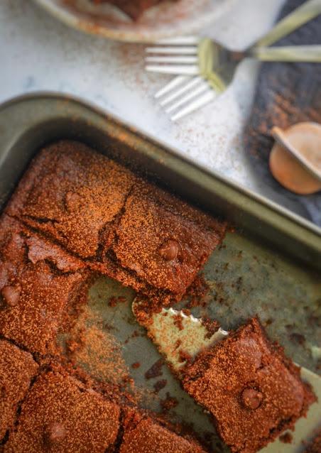 Gluten-free almond brownies recipe