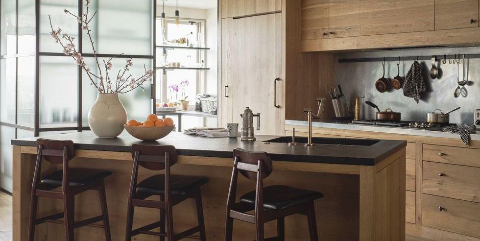 22 diseños modernos de cocinas de madera