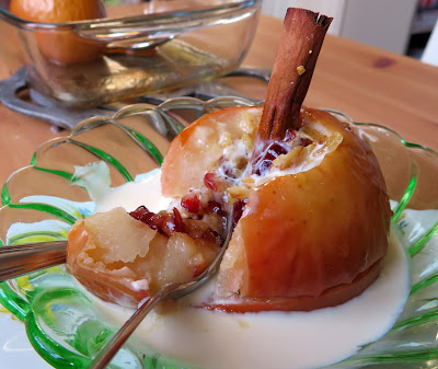 Maple & Cranberry Baked Apples