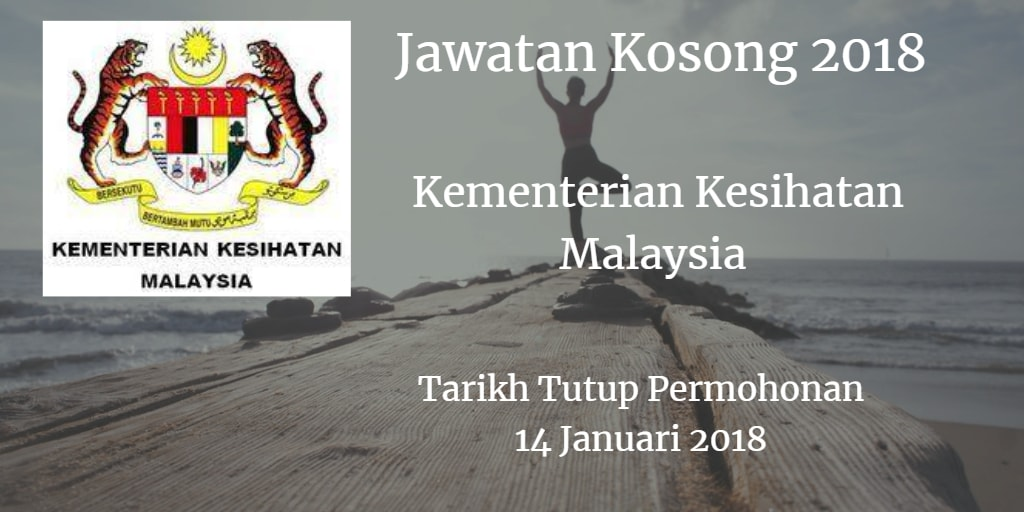 Jawatan Kosong KKM 14 Januari 2018
