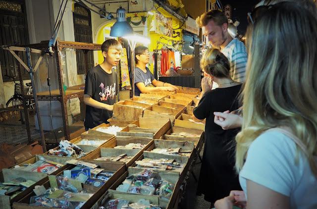 Nachtmarkt Malakka