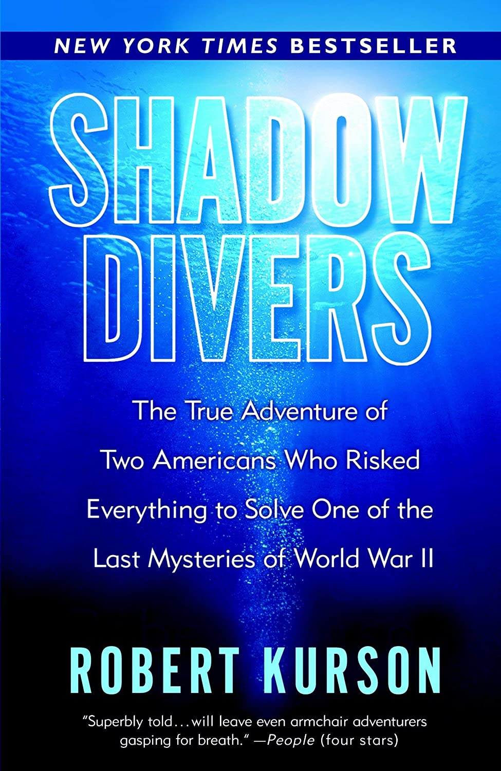 Reading For Sanity : A Book Review Blog: Shadow Divers - Robert Kurson