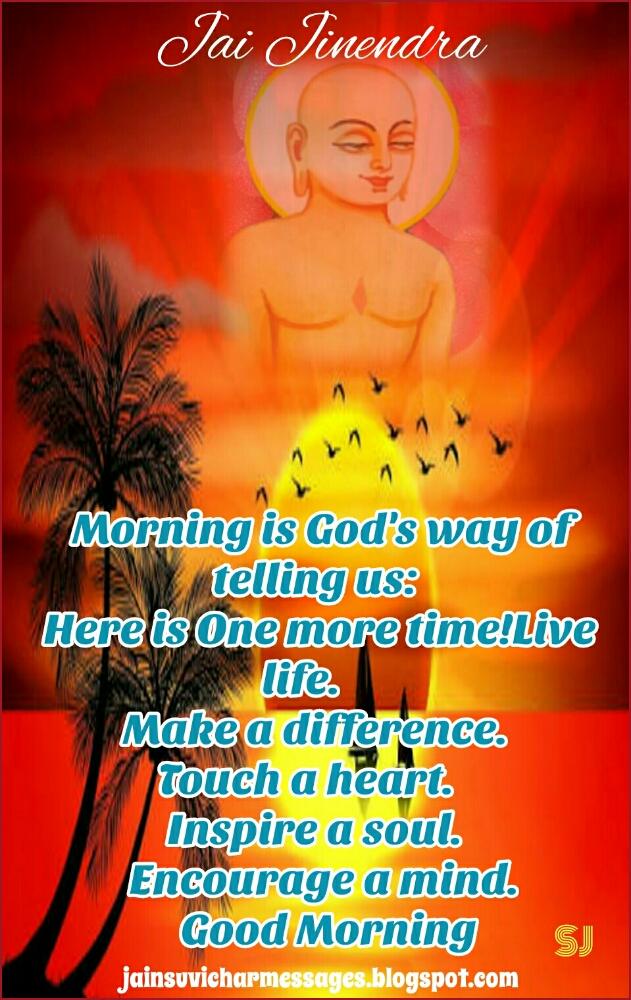jai jinendra good morning