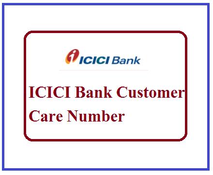 ICICI Bank Customer Care Number
