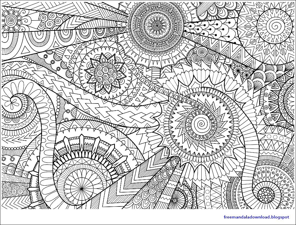 mandala zum ausdrucken für erwachsene pdf  kinder
