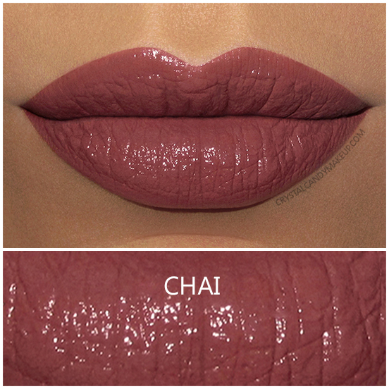 BITE Beauty Amuse Bouche Lipstick Chai Swatch